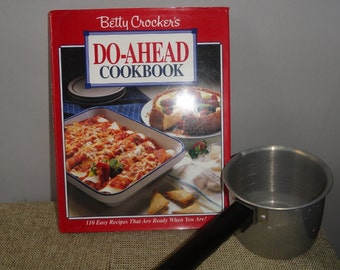 Betty Crocker's/Do A Head Cookbook /1st Edition| Hard Cover Cook Book|Kitchen Helper Book