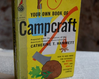 Vintage Book, Your Own Book of Campcraft