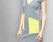 Light Grey Mini Dress