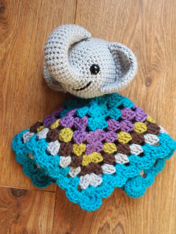 Crochet Elephant Blanket : Coins & Money Collectible Glass Collectible Plates Dolls & Miniatures...