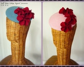 Swell Dame vintage inspired felt headpiece beret style