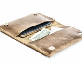 Distressed Leather Phone Case - Aged Leather Smartphone iPhone 6 Wallet