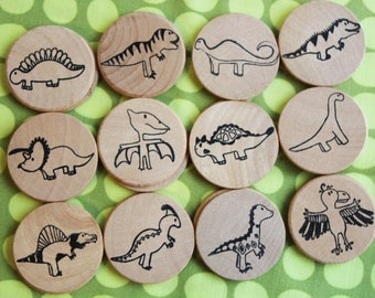 Make a Match - Dino Edition - A Montessori and Waldorf Inspired Matching and Memory Game