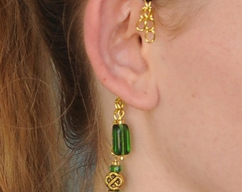 Loki-Inspired Avengers-Themed Ear Cuff To Match Thor