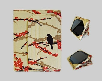 iPad Cover Hardcover, iPad Case, iPad Mini Cover, iPad Mini Case, iPad Air Case, iPad Pro Case, iPad 2, iPad 3, iPad 4 Brown Birds