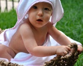 Monogrammed Hooded Baby Towel Name or Initials