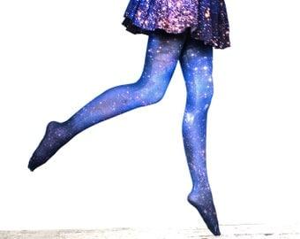 GALAXY TIGHTS. Magellanic Cloud Nebula Galaxy Tights