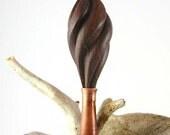 Artist Paintbrush - Burmese Blackwood and Red Palm Hair Stick