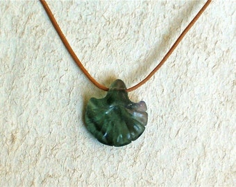 Fluorite Flower Blossom Necklace