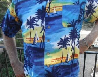 Vintage Hawaiian Shirt/Hawaii 5-0
