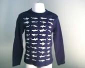 Kids Sharks Long Sleeved T Shirt