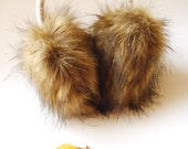 Ear muffs, ear warmers , headpiece, headband, acessory for women/girl
