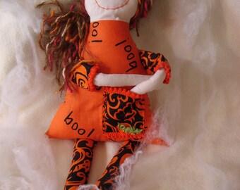 Hazel - Halloween Doll