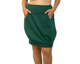 Balloon Skirt, Womens Clothing, Custom skirt with pockets, Spring skirt, Casual skirt, Womens plus size clothing, Custom plus size skirt