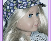 American Girl 18 inch  Doll Trendy Newsboy Cap PDF Pattern, Instant Download