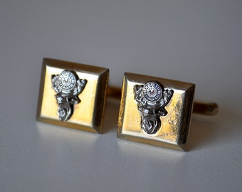 Vintage Elk Cufflinks Hickok Fraternal BPOE