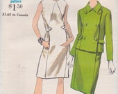 Vogue 6995 1960s Dress and Jacket Vintage 1960s Sewing Pattern Uncut