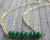 Emerald Green New Jade Necklace