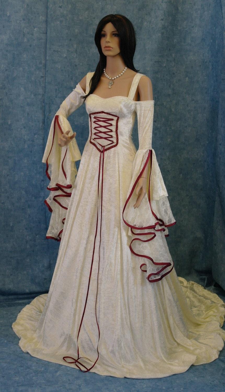 midevel wedding dress