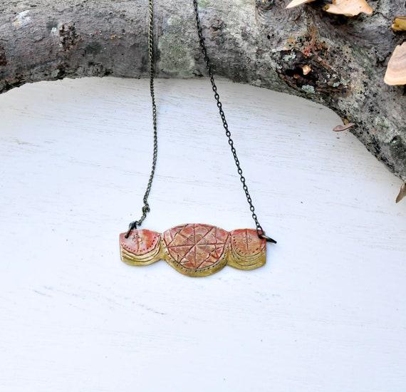 SALE Ombre Cazbah Boho Necklace
