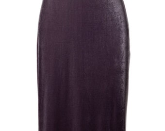 Silver Velvet Halter Gown/Maxi Dress