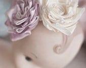 Ribbon Flower Tutorial - Ribbon Flower - Fabric Flower - Flower Tutorial - Anna Sophia