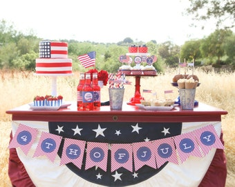 Fourth of July Party Package 50% OFF- Printable, Instant Download