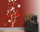 Sakura tree Wall decal 24 X 48