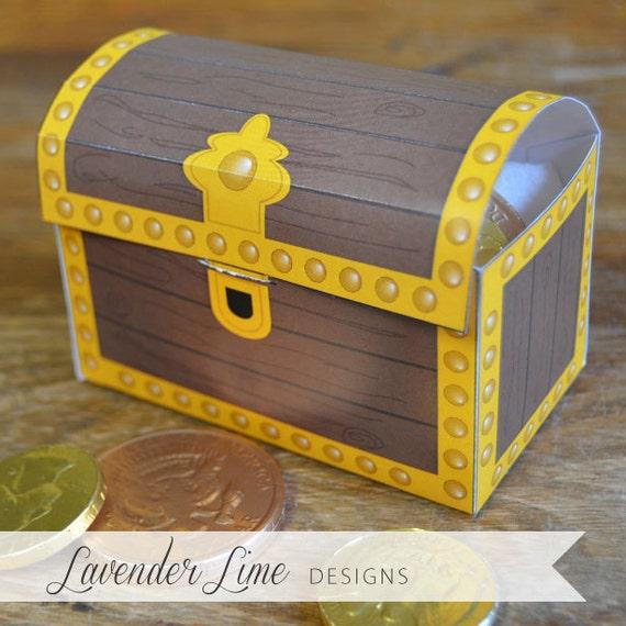 pirate treasure chest cake instructions