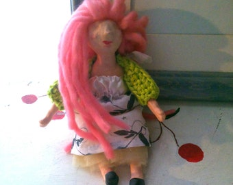 "ART DOLL CLAY ""Ghost Girl"""