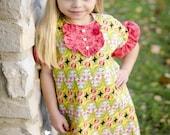 Girls  Garden Tunic/dress  2 - 8 - GirliePearlie3