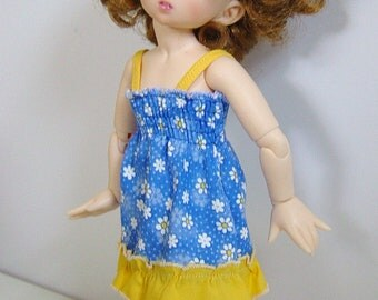 LTF/LittleFee/YOSD Shirred Sunny Daisy Sundress w/ Ruffle