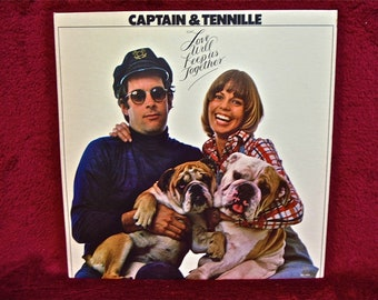 CAPTAIN & TENNILLE - Love Will Keep Us Together - 1978 Vintage Vinyl Record Album