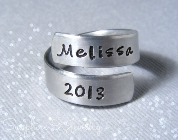 personalized graduation ring personalized class ring class