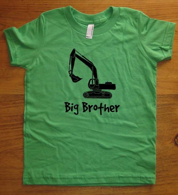 Big brother shirt kids big brother t shirt 5 colors for Big brother shirts for toddlers carters