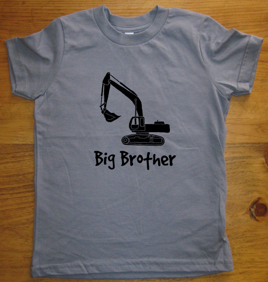 Big brother shirt kids big brother t by sunshinemountaintees for Big brother shirts for toddlers carters