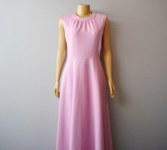 V i n t a g e 1970s Maxi DRESS, by Andrea Gayle large