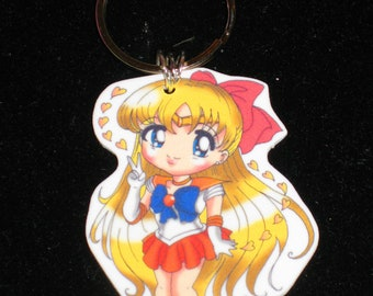 Sailor Venus - Sailor Moon Keychain