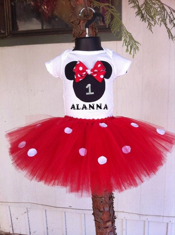 mini mouse outfit birthday tutu set minnie mouse tutu