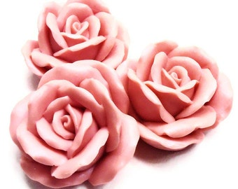 Cotton Candy Soaps - Roses - Gift Set of 2 Roses