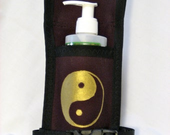 Made to Order - Single massage Holster with Hand Painted Design and Belt (Any Color, any Design)
