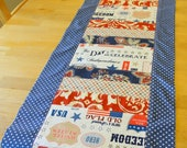 Patriotic Table Runner - Independence, Primitive Americana, 70 x 15