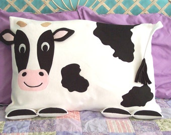 Cow Pillow Sham