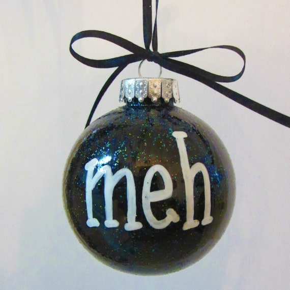 Holiday christmas ornament holiday humbug by rhythmsofgraceart for Christmas ornaments clearance