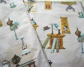 Mid Century Novelty Pint Fabric - Half Yard - General Store