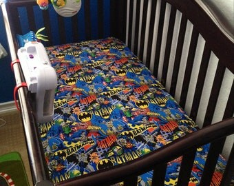 Custom Crib Sheet- Your Choice of Fabric