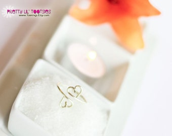 Buy 3, Get One FREE - Two Hearts, Toe Ring or Knuckle Ring