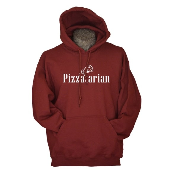 Pizza sweatshirt Pizzatarian sweatshirts for men women boys teens funny foodie hoodies sizes S – 3XL hoodie gift for boyfriend husband son