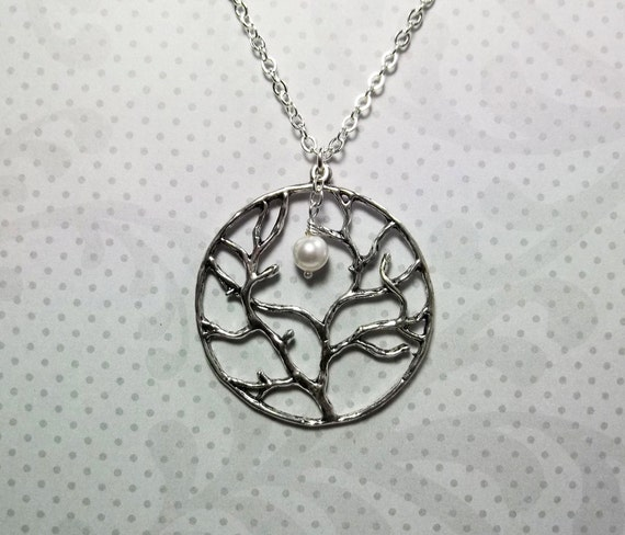 Tree of Friendship Necklace   Birthday Gift    Everyday Fashion    Gift For Women  Bridesmaid Gift  Best Friend