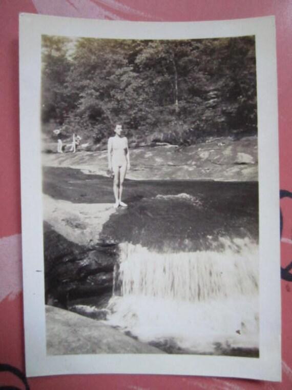 Diver's Pointe... 1930's Vintage Photo